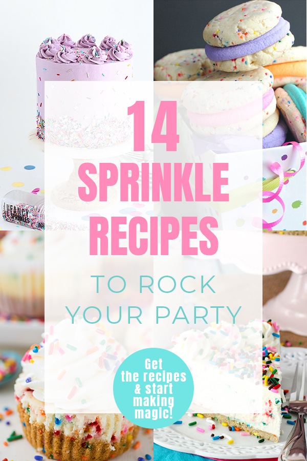 Sprinkle Recipes   Add some magic to your next party with colorful, sprinkle recipes